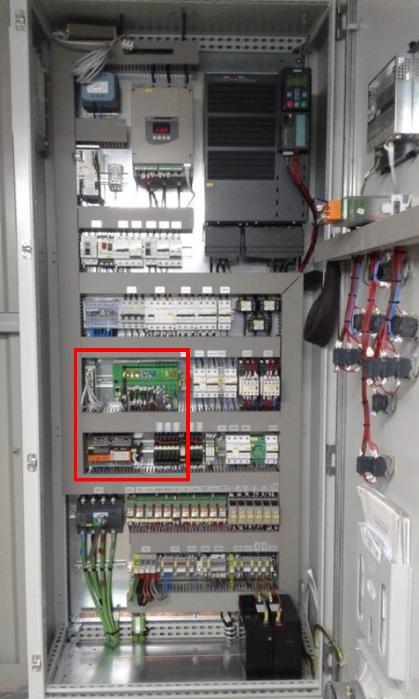 iDroSmartwell Lite integrado en cuadro de maniobra de pozo