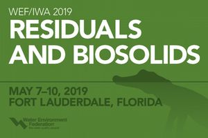 WEF Residuals and Biosolids Conference