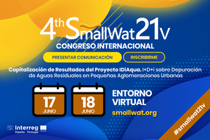 4º Congreso Internacional Smallwat21v - Wastewater in Small Communities