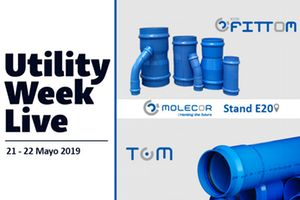 TOM® y ecoFITTOM® de MOLECOR presentes en Utility Week Live 2019