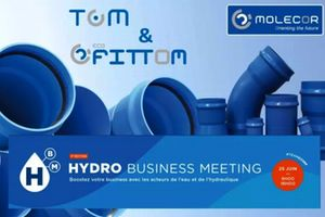 "Molecor estará presente en la 1ª Convención ""Hydro Business Meeting"" el 25 de junio en Marsella, Francia"