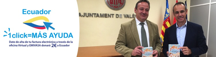 El ayuntamiento de valencia y emivasa lanzan la campa a 1 for Aguas de valencia oficina virtual